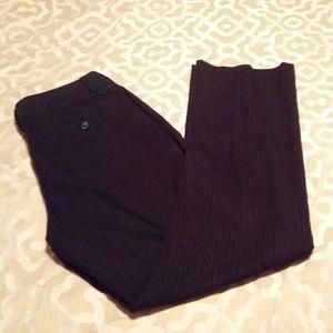 Black Pinstripe Martin(Logan) Pants